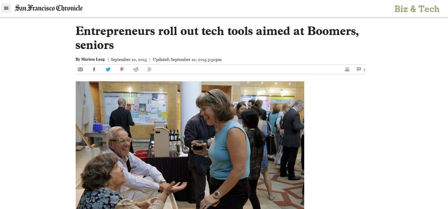 Tech Tools Aimed at Seniors