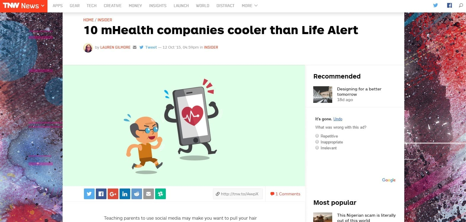 TheNextWeb News - Cooler Than LifeAlert