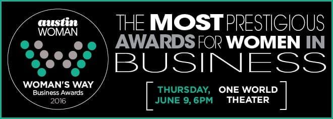 UnaliWear is a finalist for Austin Woman Business Award