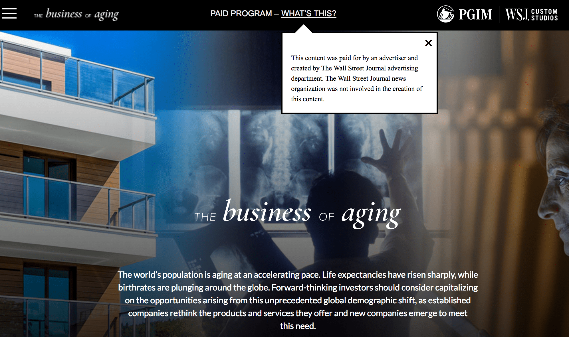 """UnaliWear Mentioned in the Wall Street Journal (WSJ) in: """"The Business of Aging"""""""